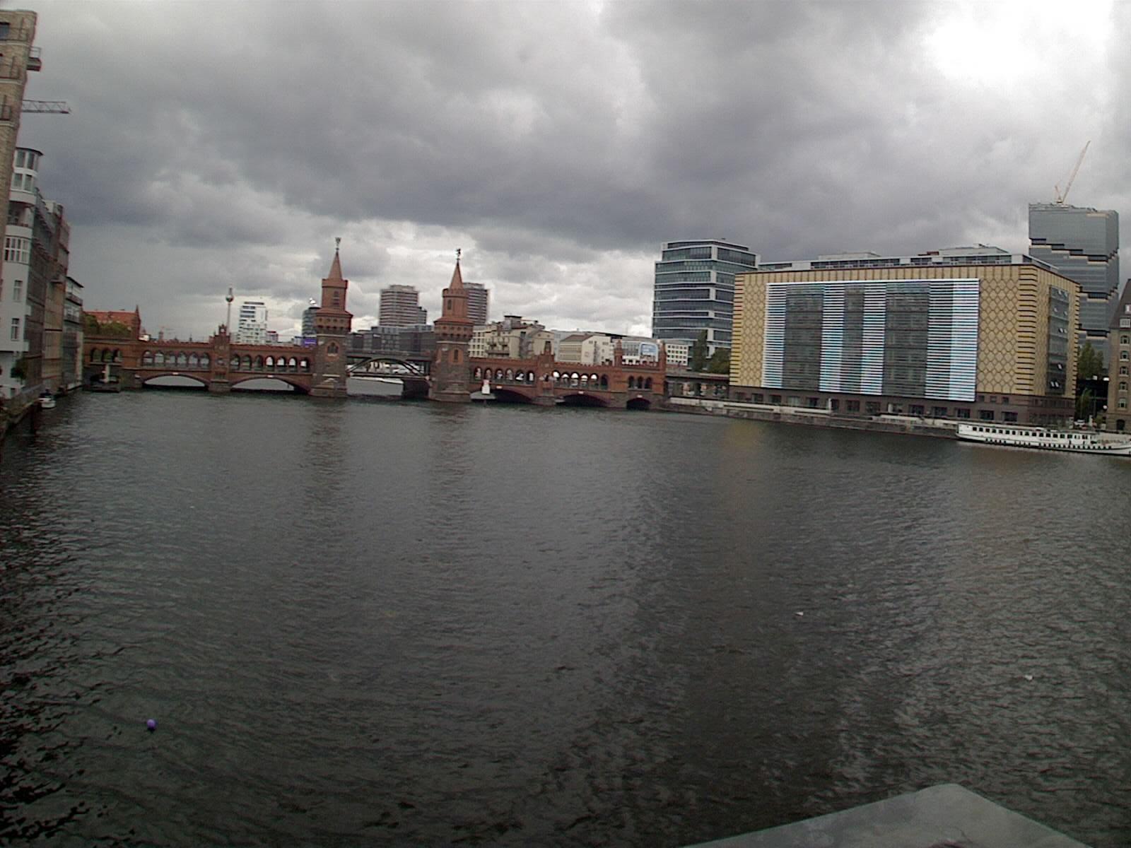 Hd Berlin – Oberbaumbrücke webcam Live
